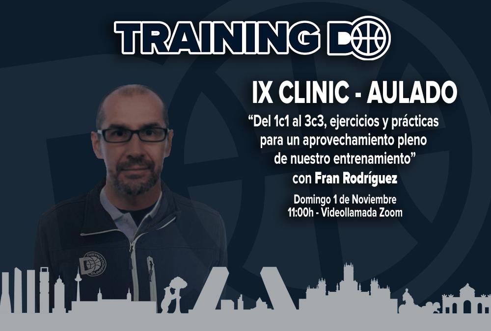 IX CLINIC AULA DO – DEL 1C1 AL 3X3