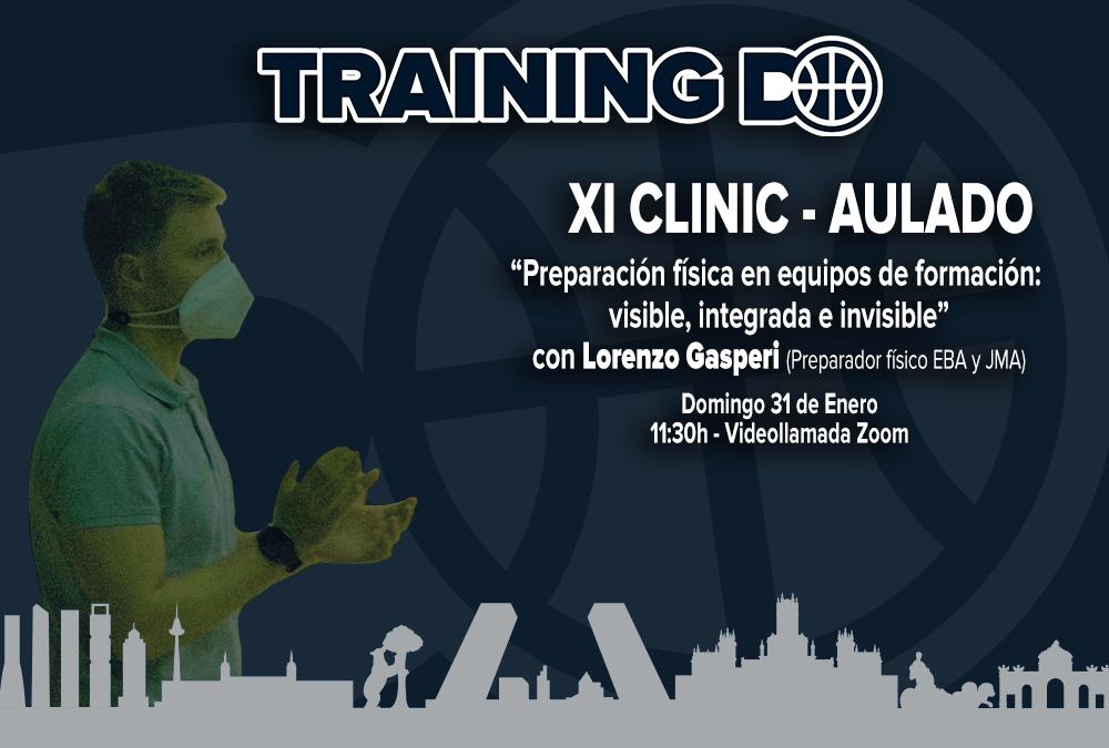 XI CLINIC AULA DO – PREPARACION FISICA EN EQUIPOS DE FORMACION